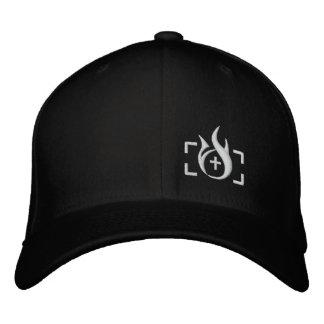 Gorra de Flexfit del logotipo de la tinta del ince Gorras Bordadas