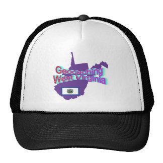 Gorra de Geocaching Virginia Occidental