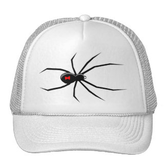 Gorra de Halloween de la araña de la viuda negra