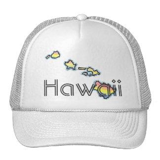 Gorra de Hawaii de las islas hawaianas