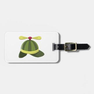 Gorra de Helcopter Etiqueta De Maleta