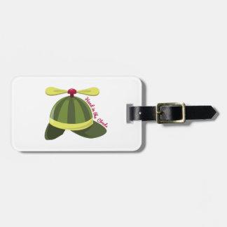 Gorra de Helcopter Etiqueta Para Maleta