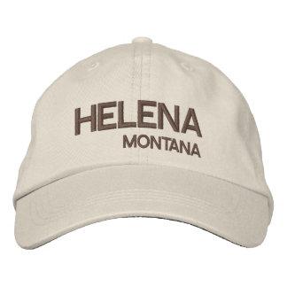 Gorra de Helena* Montana/choza de Montana los Gorra Bordada
