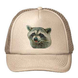 Gorra de imagen del mapache