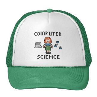 Gorra de informática del camionero del pixel -