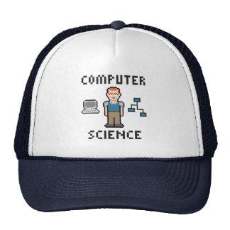 Gorra de informática del camionero del pixel