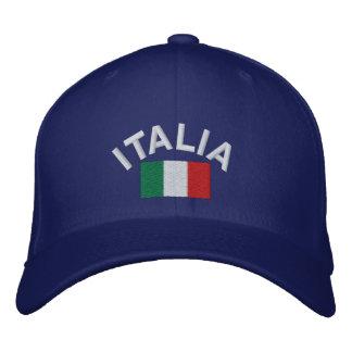 ¡Gorra de Italia - Forza Italia! Gorras De Béisbol Bordadas