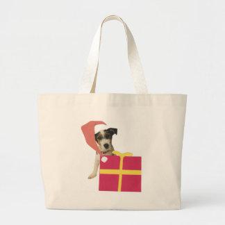 Gorra de Jack Russell Terrier Santa Bolsas