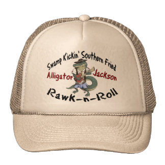 Gorra de Jackson del cocodrilo