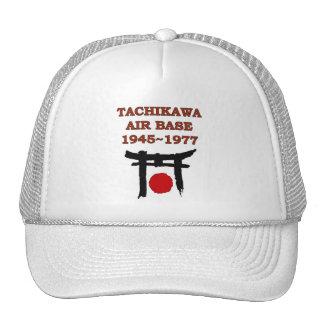 gorra de Japón de la base aérea de tachikawa