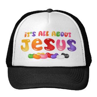 Gorra de Jesús de la haba de jalea