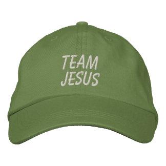 Gorra de Jesús del equipo Gorra De Beisbol Bordada