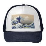 """Gorra de Kanagawa de Hokusai """"la gran onda"""""""