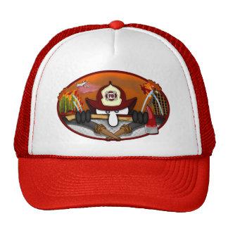 Gorra de Kilroy del bombero