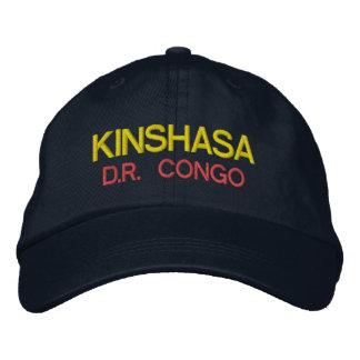 Gorra de Kinshasa - de Congo Emboidred Gorra Bordada