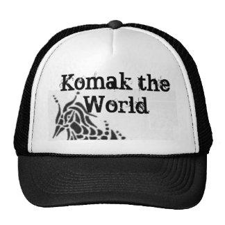 Gorra de Komak: Komak el mundo