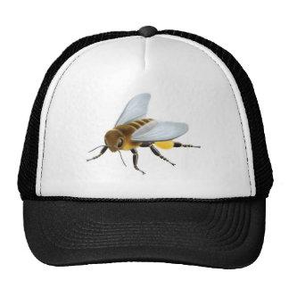 Gorra de la abeja de la miel