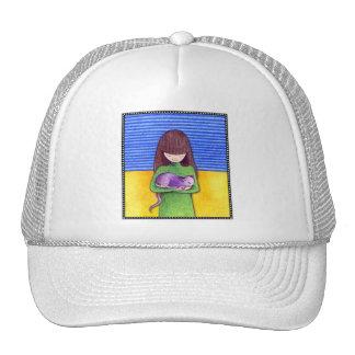 Gorra de la abrazo del gato