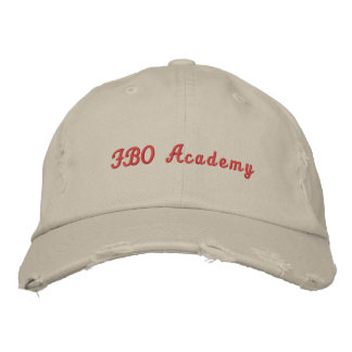 Gorra de la academia del FBO Gorras De Beisbol Bordadas
