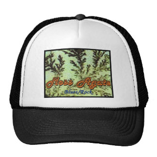 Gorra de la ágata de musgo
