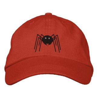 Gorra de la araña gorra bordada