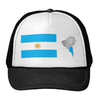 gorra de la Argentina