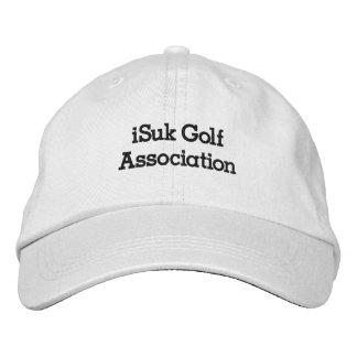 gorra de la asociación del golf del iSuk Gorra De Béisbol
