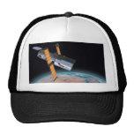 Gorra de la astronomía de espacio del telescopio e