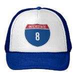 Gorra de la autopista 8