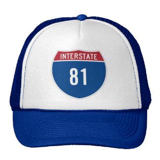Gorra de la autopista 81