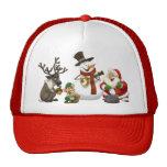 Gorra de la banda de jarro del navidad