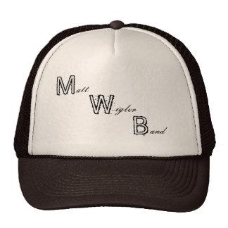 Gorra de la banda de Matt Wigler