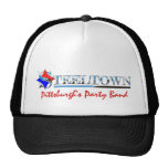 Gorra de la banda del fiesta de Steeltown Pittsbur