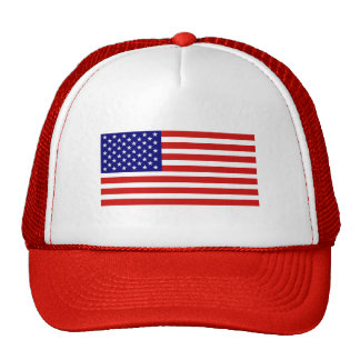 Gorra de la bandera americana