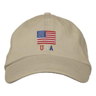 Gorra de la bandera americana de los E.E.U.U. - 4t Gorras De Beisbol Bordadas