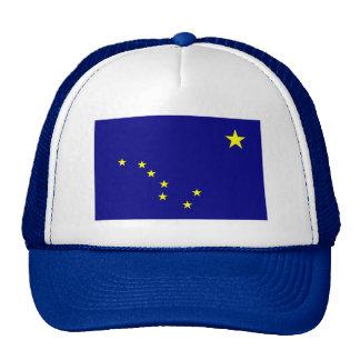Gorra de la bandera de Alaska