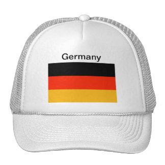 Gorra de la bandera de Alemania