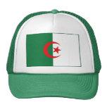 Gorra de la bandera de Argelia