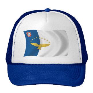 Gorra de la bandera de Azores