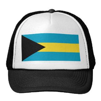 Gorra de la bandera de Bahamas