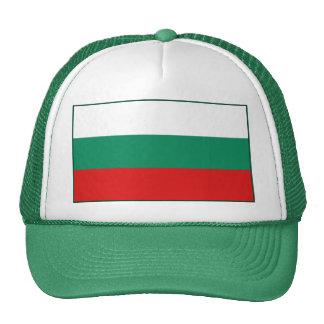 Gorra de la bandera de Bulgaria