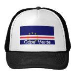 Gorra de la bandera de Cabo Verde