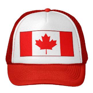 Gorra de la bandera de Canadá