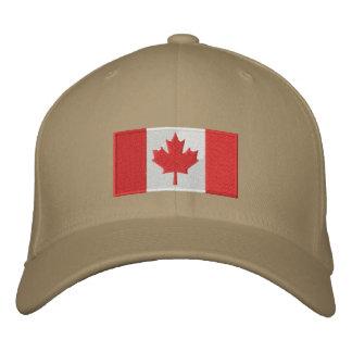 Gorra de la bandera de Canadá Gorra De Béisbol