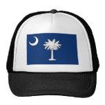 Gorra de la bandera de Carolina del Sur