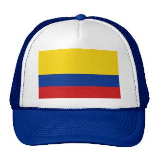Gorra de la bandera de Colombia