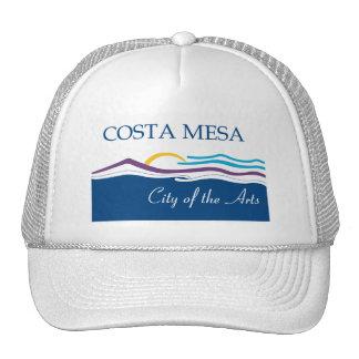 Gorra de la bandera de Costa Mesa