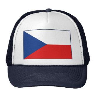 Gorra de la bandera de Czechia