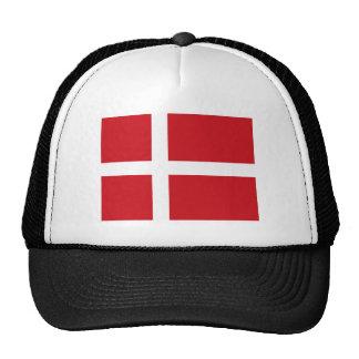 Gorra de la bandera de Dinamarca