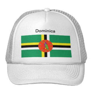 Gorra de la bandera de Dominica